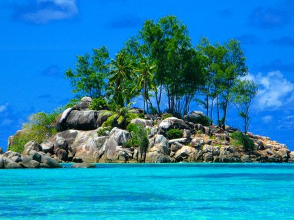 Exotic language Seychelles island
