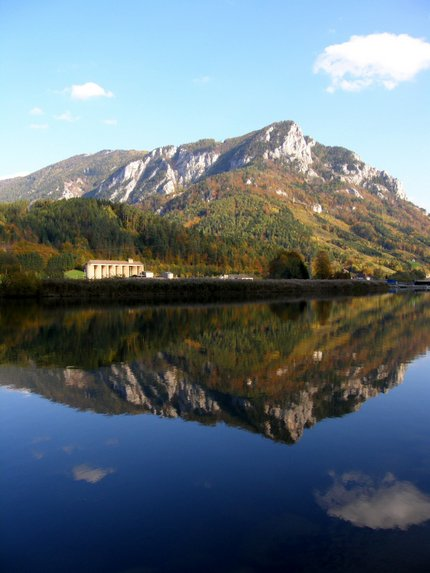 French mountain reflections