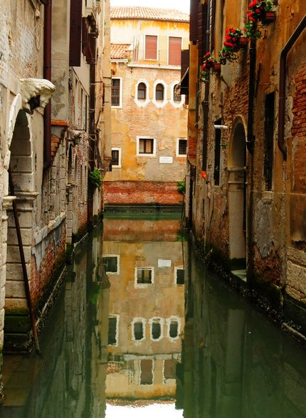 Historical buildings in Venice