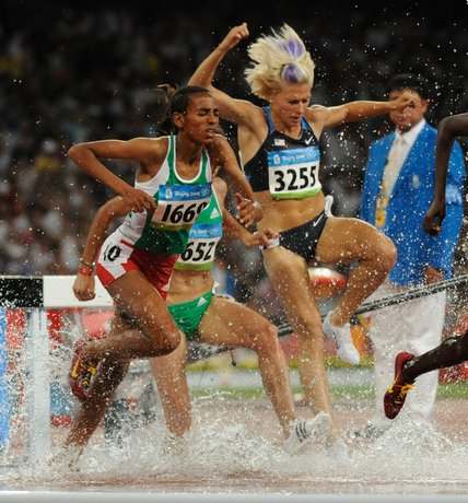 Sports steeplechase
